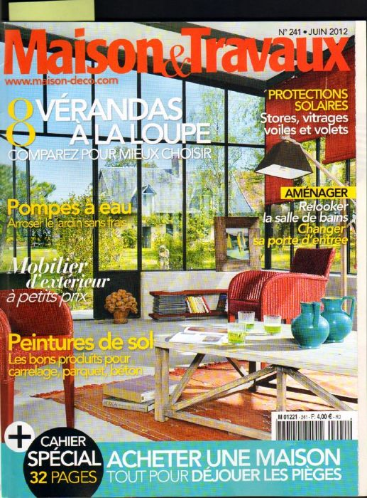 maison et travaux magazine excellent n mars cuisine chic with maison et travaux magazine les. Black Bedroom Furniture Sets. Home Design Ideas
