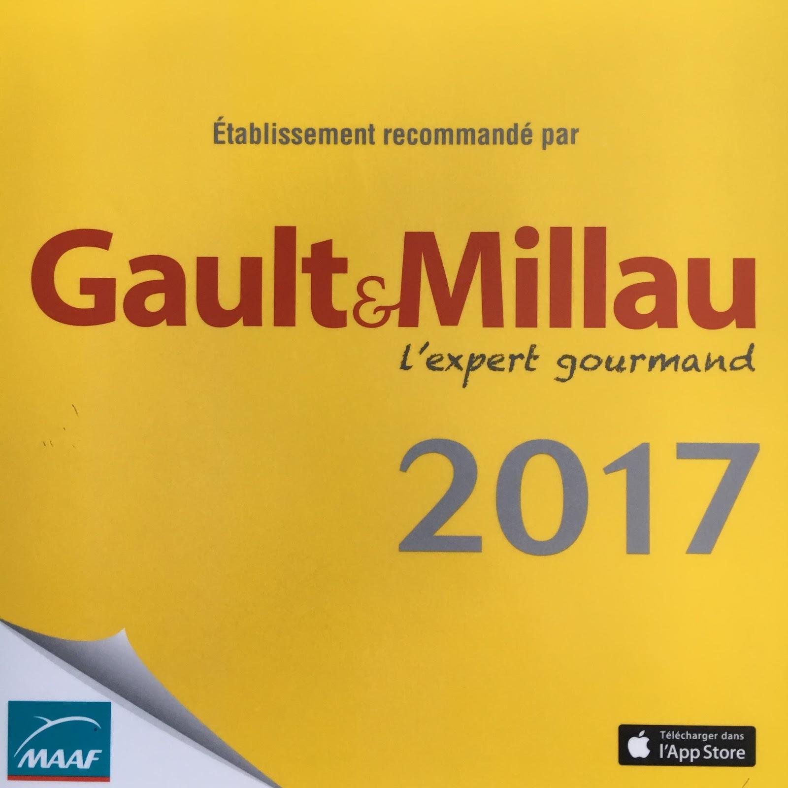Recommandation Gault et Millau 2017 Les Vins Magnifiques Lyon
