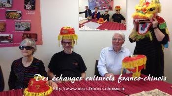 échange culturel et calligraphie chinoise