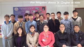 délégation chinoise de Qingdao en visite