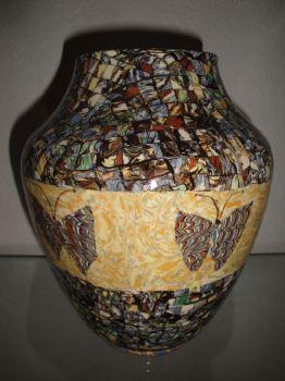 vase aux papillons