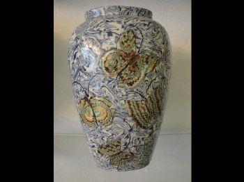 vase decoration papillon