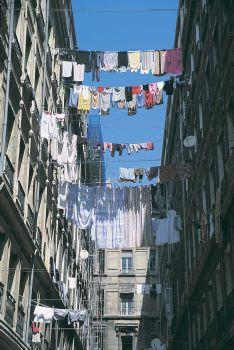 Le panier quartier de Marseille