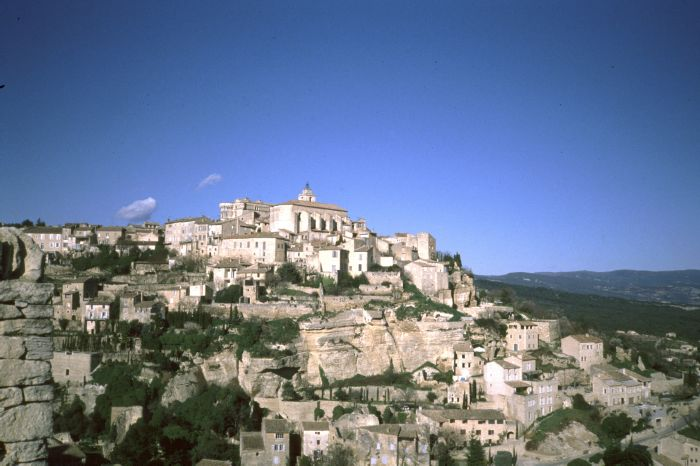 Gordes, Hilltop village and one of the most beautiful village of France