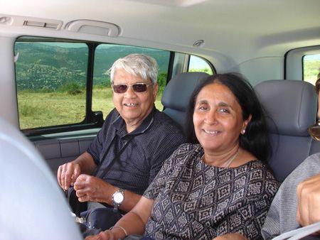 Touristes américians en excursions BPMD-Belle Provence Minibus Deluxe