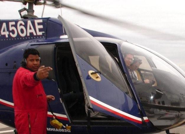 Helicoptère pour survoler la Provence ou rejoindre l'aéroport