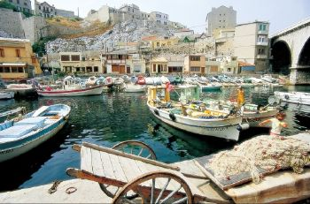 Vallon des Auffes Little fishing port Marseille