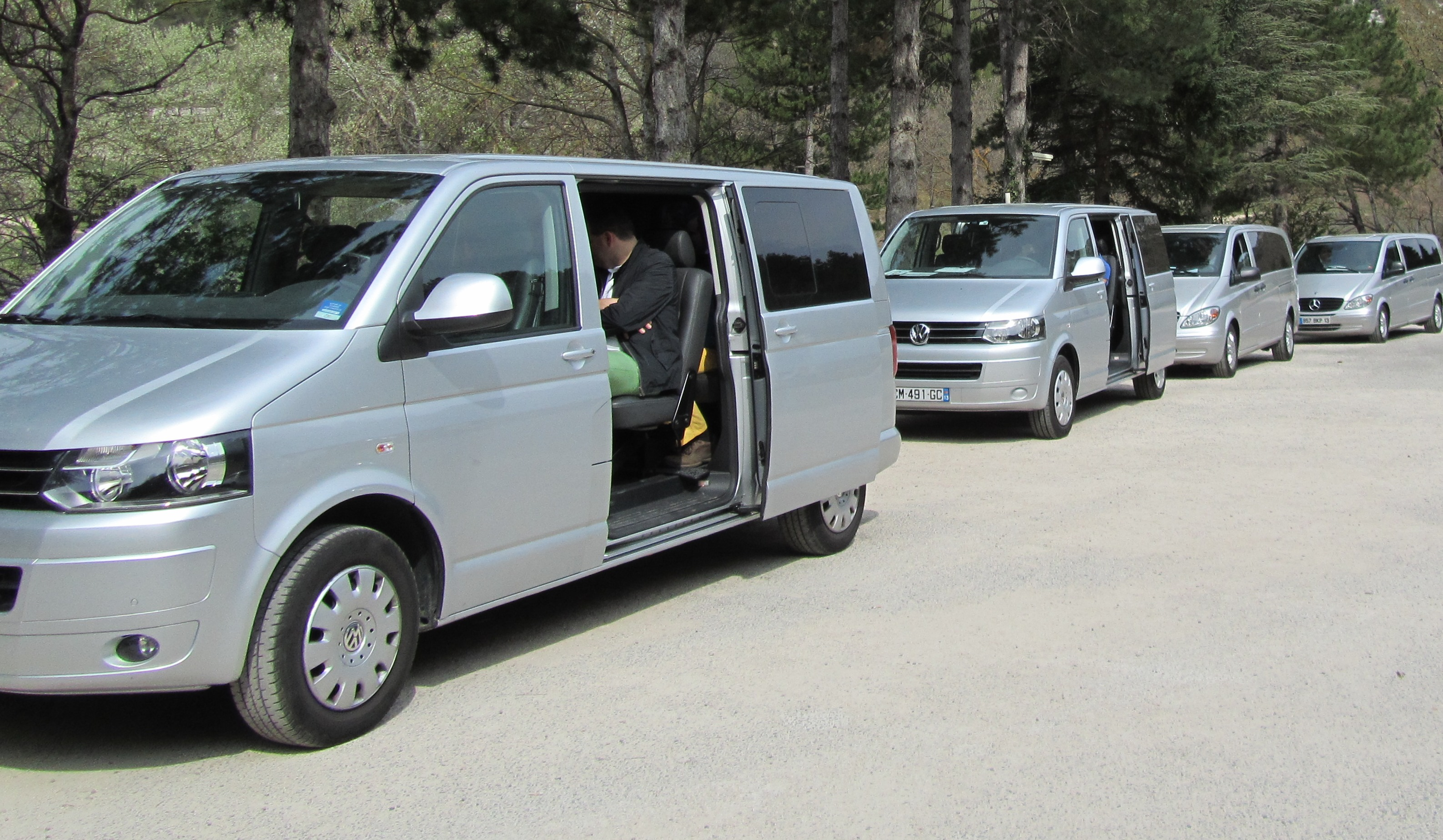 Mini Vans Belle provence Minibus Deluxe Marseille for Events