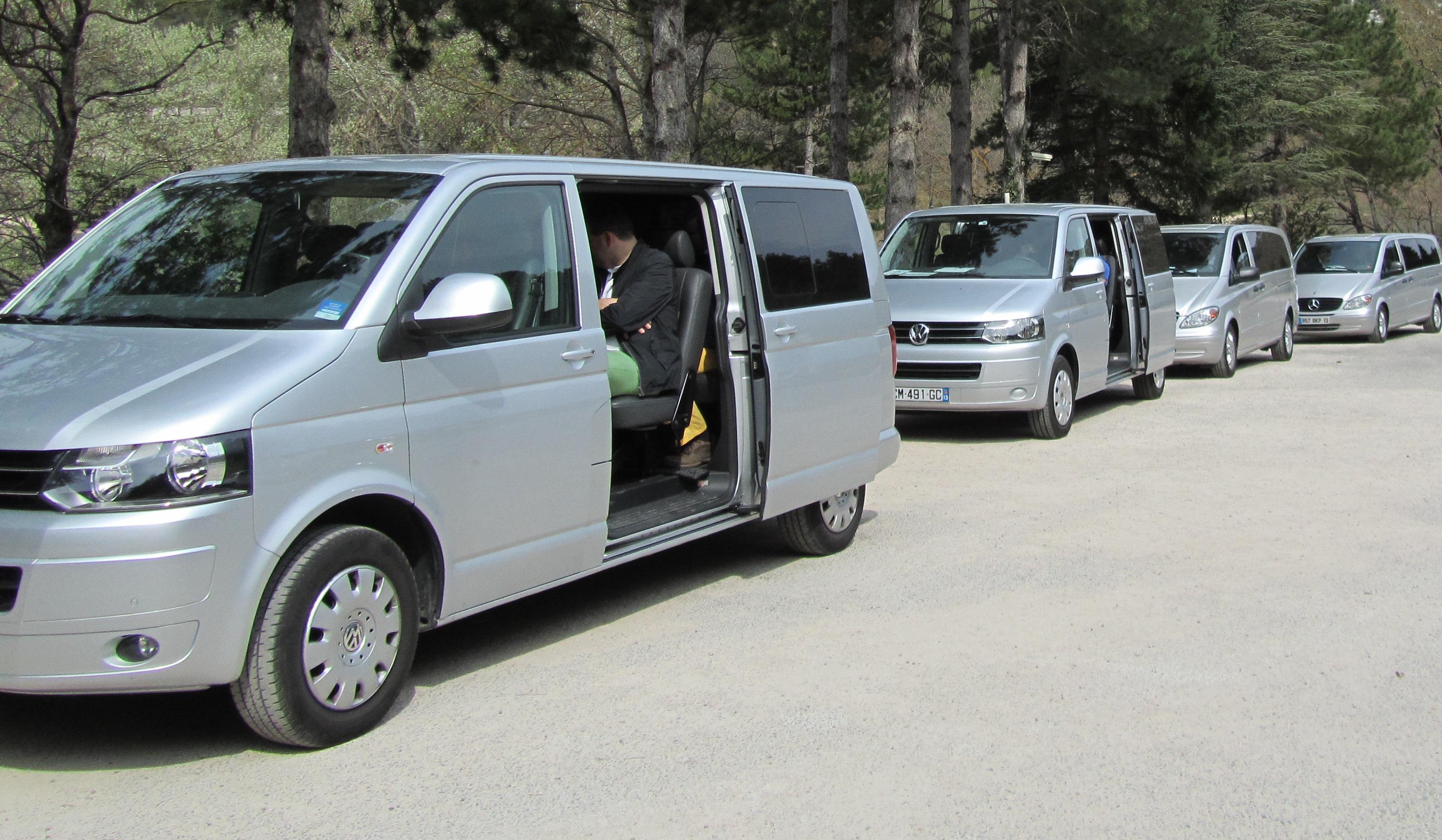 Véhicules avec chauffeur en Provence Driven Cars